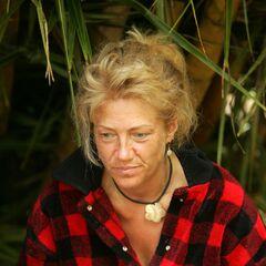 Tina at the Casaya camp.
