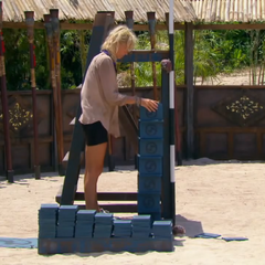 Tina competes in the tenth Redemption Island duel, <i><a href=