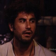Mikey B. shocked by the elimination of Mary.