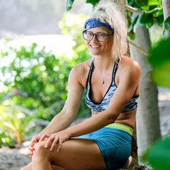 Kelley at camp.