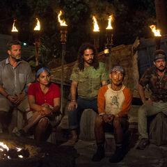 Nuku at their third Tribal Council.