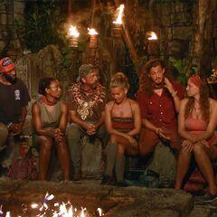 Orkun's sixth Tribal Council.