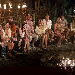 Gota tribe at Tribal Council.