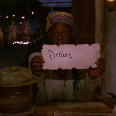 Cirie voting against Debbie.
