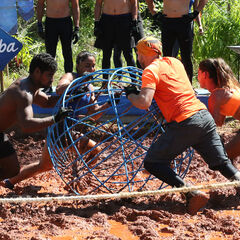 Banda competing in the tenth Immunity Challenge, <i><a href=