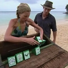 Sally in her last challenge.