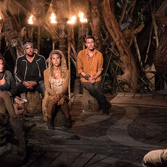 Naviti at their second Tribal Council.