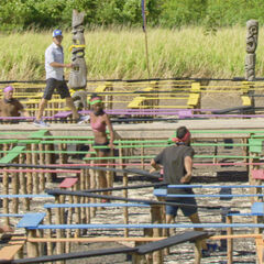 Lavita competes in the seventh individual Immunity Challenge, <i><a href=