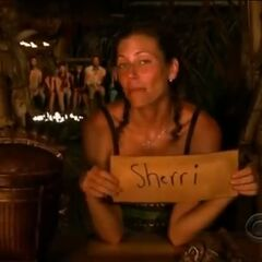Corinne's last vote against Sherri.