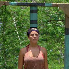 Jenn at the challenge.