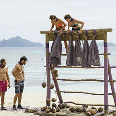Takali competes in the sixth Immunity Challenge, <i><a href=