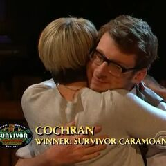 Cochran is the Sole Survivor of <i>Survivor: Caramoan</i>.