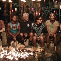 Dara at its fifth Tribal Council.