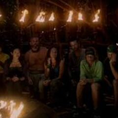 The new Mogo Mogo at their first Tribal Council.