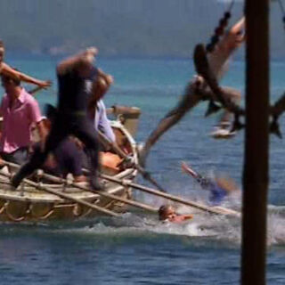 The castaways competing in <i><a href=