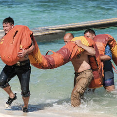 Mana competing in the second Immunity Challenge, <i><a href=