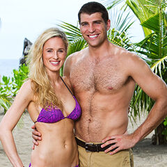 Candice and her husband, <a href=