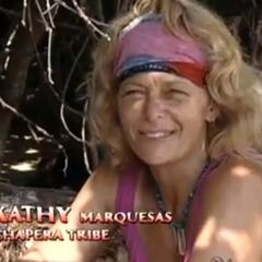 Kathy making a confessional about Chapera's lost and Rob's offer