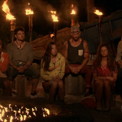 Mana at their third Tribal Council.