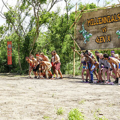 The tribes prepare to compete.