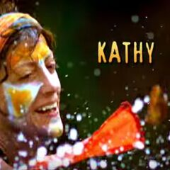 Kathy's motion shot in the opening.