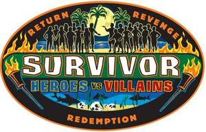 Survivor Heroes vs. Villains Logo 2