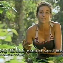 Danielle making a confessional.