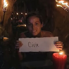 Danielle votes against Cirie.