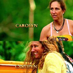 Carolyn's shots at the opening.
