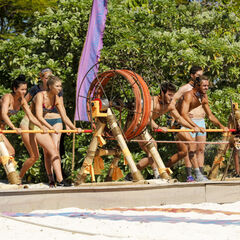 Malolo competes in the fifth Immunity Challenge, <i><a href=