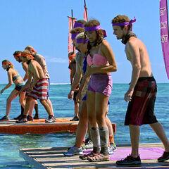 Vinaka preparing to compete in <i>Ferryman</i>.