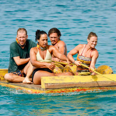 Kama competes in the Immunity Challenge, <i><a href=