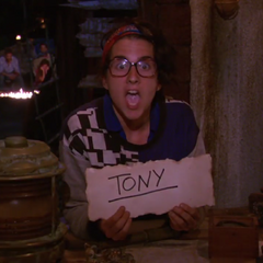 Aubry voting against Tony.