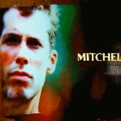 Mitchell's photo in the opening.