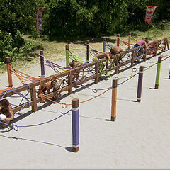 Dangrayne competes in the final eight Immunity Challenge, <i><a href=