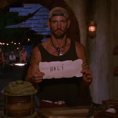 Brad voting against Hali.