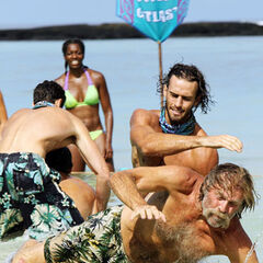 The men during the challenge.