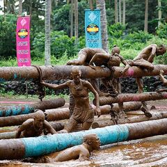 Samatau competes in the second Immunity Challenge.