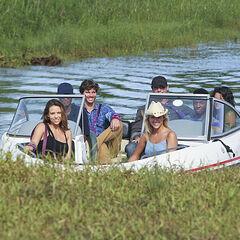 The Solana tribe (Beauty) arriving via boat