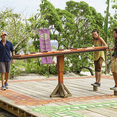 Vanua competes in the sixth Immunity Challenge, <i><a href=