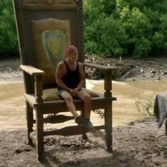 Dan sitting out of a post-merge <a href=