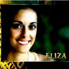 Eliza's photo in the opening.