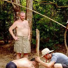 Richard at camp.