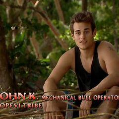 John making a confessional.