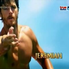 Jeremiah's first motion shot in the opening