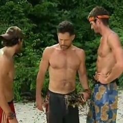 Terry agrees with the younger men to vote out Dan.
