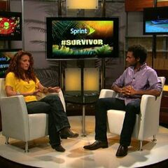 Jerri as a guest on the <i><a href=