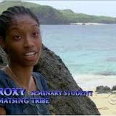 Roxy giving a <a href=