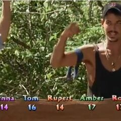 Rob wins his third individual immunity.