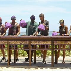 Caleb competes in the Immunity Challenge, <i><a href=